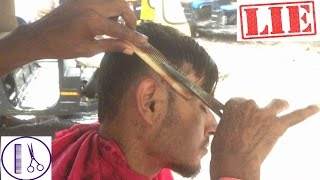 getlinkyoutube.com-Amazing Haircut on the Street (1080p) - Indian Street Barber Episode 2 (ASMR Tingles)