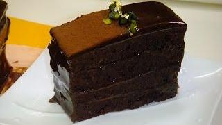 getlinkyoutube.com-【356作】濃厚チョコケーキ作ってみた【お菓子作成】