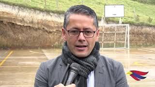 ALCALDE DE PASTO ENTREGÓ DOS IMPORTANTES OBRAS EN EL CORREGIMIENTO DE EL ENCANO