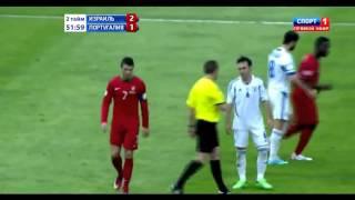 getlinkyoutube.com-Cristiano Ronaldo Vs Israel Away HD 720p [22.03.2013]