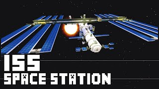 getlinkyoutube.com-Minecraft - ISS : International Space Station