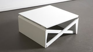 getlinkyoutube.com-MK1 Metal Coffee Table by Duffy London