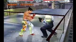getlinkyoutube.com-Tekken 4 Kazuya Combos
