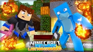 FUNNIEST BED WARS EVER WITH LITTLE KELLY !!!! Live Stream  Sharky Minecraft Adventures