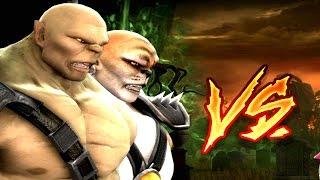 getlinkyoutube.com-Mortal Kombat Komplete Edition - Goro & Kintaro Tag Ladder 60FPS Gameplay Playthrough