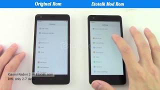 getlinkyoutube.com-XIaomi Redmi 2 Mod Rom VS Original ROM