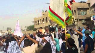 تشييع الشيخ خلف فاخر غضبان البنيه اللامي 2