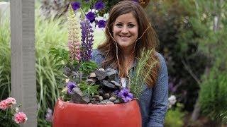 getlinkyoutube.com-How to Make a Planter Fountain