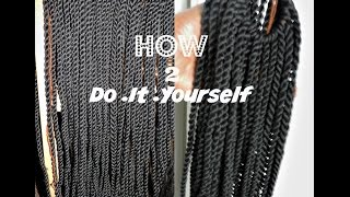 getlinkyoutube.com-HOW TO PRETWIST YARN | DO IT YOURSELF  | DIY