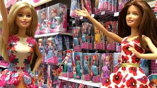 getlinkyoutube.com-TOY HUNT with Barbie and Teresa !  Lots of toys - Shopkins, My Little Pony and more !