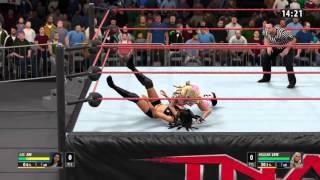 getlinkyoutube.com-WWE 2K16: Angelina Love vs Gail Kim [Knockouts Title Match]