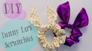 getlinkyoutube.com-DIY TopShop Bunny Ears Scrunchie {Cute gift Ideas} | ANNEORSHINE