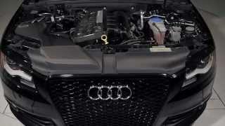 getlinkyoutube.com-ECS Tuning: Audi B8 A4 Kohlefaser Luft-Technik Intake System