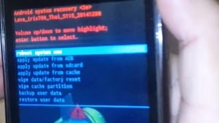 getlinkyoutube.com-วิธีรีเซ็ต AIS Lava 4.5 (iris 700) กรณีลืมรหัสล็อกหน้าจอ