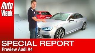 getlinkyoutube.com-Audi A4 [B9] [2016] Limousine & Avant preview report - English subtitled