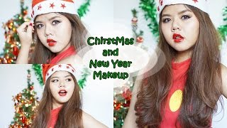 getlinkyoutube.com-แต่งหน้าราคาเบาๆ (Christmas and New Year Makeup Look)