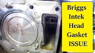 getlinkyoutube.com-Briggs Intek Head Gasket Symptoms