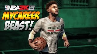 getlinkyoutube.com-NBA 2K15 My Career - The BEST Jumpshot To Use For MyCareer & MyPark! (Background Beat By @Humbeats)