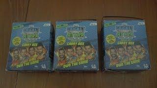 getlinkyoutube.com-UK PREMIERE ☆ unboxing CARRY BOX ☆ topps CRICKET ATTAX 2014/15 IPL ☆ opening