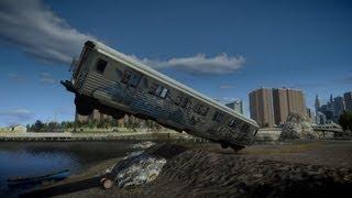 getlinkyoutube.com-GTA IV Subway Train Crash Testing