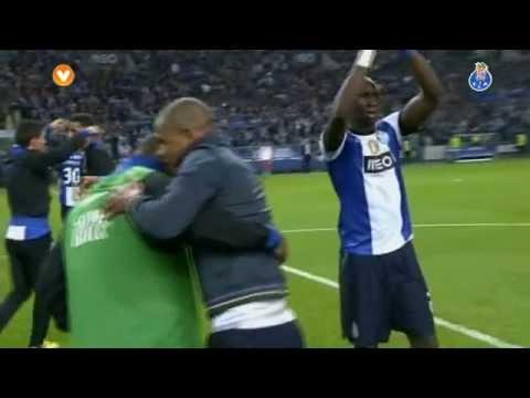 Golo de Kelvin e momentos finais do FC Porto-Benfica, 2-1