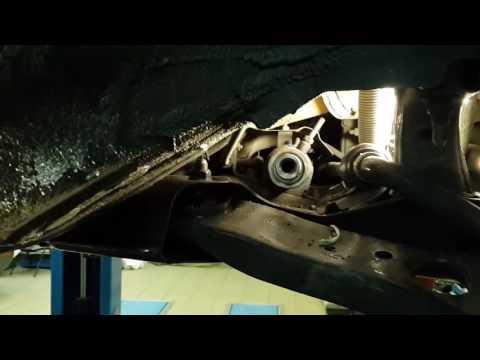 Замена втулки рулевой рейки.Стук в передней подвеске