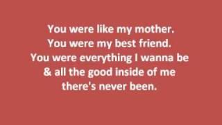 Kellie Pickler- My Angel w/ lyrics