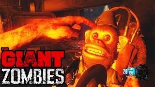 Black Ops 3 Zombies - CREEPY GIRL EASTER EGG, MONKEY BOMB SCREAM, & OTHER EASTER EGGS! (The Giant)