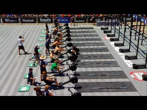 CrossFit - NorCal Regional Live Footage: Men's Event 1