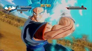 getlinkyoutube.com-Vegito SSGSS vs Golden Frieza   Dragon Ball Xenoverse