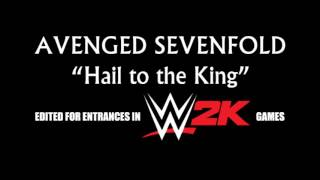 Avenged Sevenfold   Hail To The King (Entrance Edit)