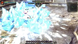 getlinkyoutube.com-Dragon Nest (lv 90 cap)  Salaena / Destroyer vs Windwalker / Elestra Pro PVP Wipeout !