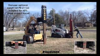 getlinkyoutube.com-Danuser Hammer Driving Railroad Tie