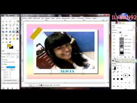 Video tutorial como hacer Efecto Polaroid (Gimp) Bien Explicado