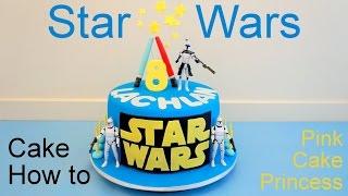 getlinkyoutube.com-Star Wars Cake How to Make by Pink Cake Princess