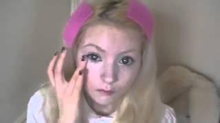 getlinkyoutube.com-Cómo convertirse en una Barbie humana en 7 minutos