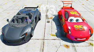 getlinkyoutube.com-Grand Theft Auto V - Gameplay w/ Wide-body Mcqueen (GTAV Mods Awesome Drag Race Meeting)