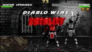 getlinkyoutube.com-MK Cyber World gameplay - Diablo