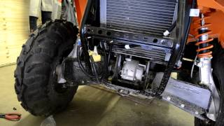 getlinkyoutube.com-Part 1 How to install a winch on a 2012 polaris sportsman 500 ho