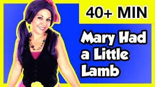 Mary Had a Little Lamb Nursery Rhyme | Plus More Nursery Rhymes and Kids Songs