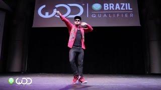 getlinkyoutube.com-Ricardo Walker | World Of Dance Brazil | Beat it Dubstep