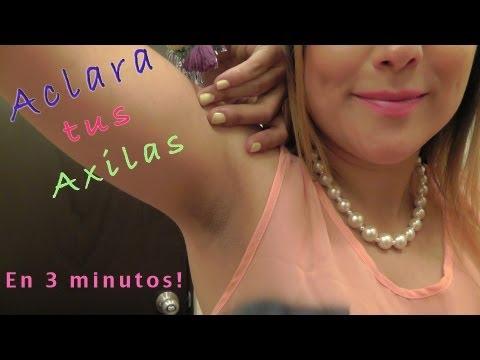 **ACLARA tus AXILAS en tan solo 3 MINUTOS!!! Sin Falla!!!**