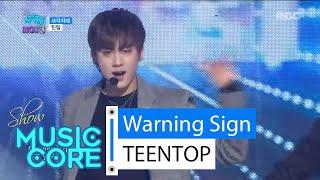 getlinkyoutube.com-[HOT] TEENTOP - Warning Sign, 틴탑 - 사각지대 Show Music core 20160220