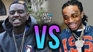 getlinkyoutube.com-Soulja Boy Disses Quavo & The Migos, Threatens To Pull Out His Draco Again