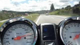 Honda Hornet Top Speed 245Km/h - Mecânica original