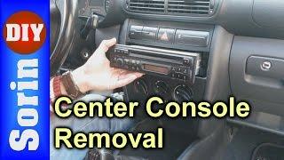getlinkyoutube.com-CD Player / Center Console - Removal - Seat Leon 1m / Toledo TUTORIAL