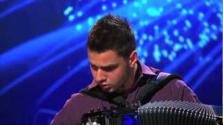 Got Talent Serbia - Nikola Peković (Amazing Accordion)