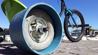 getlinkyoutube.com-How To Make Legit Drift Trike Wheels