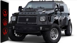 Los 10 autos blindados más lujosos y seguros del mundo