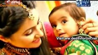getlinkyoutube.com-Akshara Ke Baby Ka Naamkaran -SBS Segment 18th February 2012
